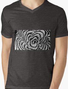 Vector swirl Mens V-Neck T-Shirt