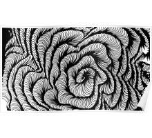 Vector swirl Poster