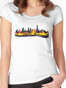 BUILDINGS OF AUSTRALIA Women's Fitted Scoop T-Shirt