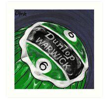 Dunlop Warwick Green Art Print