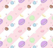 Macaroon Pattern by lythweird
