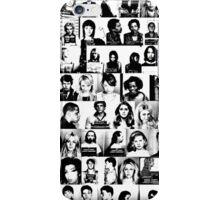CELEBRITY MUGSHOTS iPhone Case/Skin