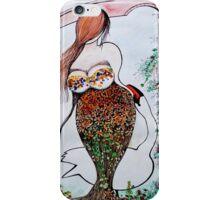 Bruges's swan iPhone Case/Skin