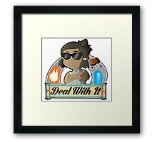 Avatar Korra - Deal With It Framed Print