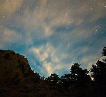 Colorado Canyon Star Gazing  by Bo Insogna