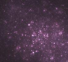 Purple Cluster Galaxy by SirDouglasFresh