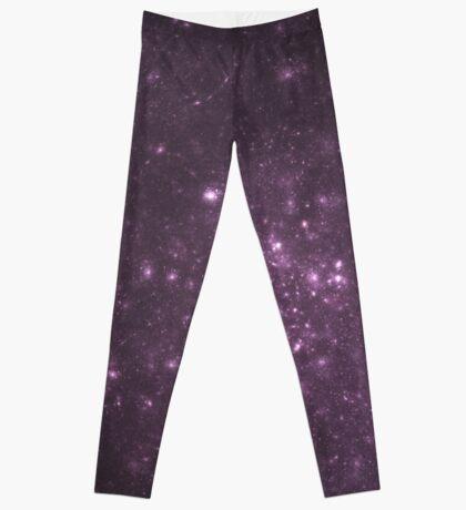 Purple Cluster Galaxy Leggings