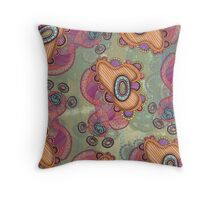 Jellyfish, Day Throw Pillow