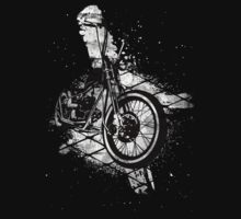 Old School Bobber Motorcycle T-Shirt
