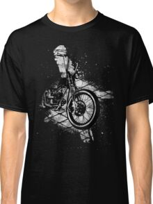 Old School Bobber Motorcycle Classic T-Shirt