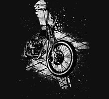 Old School Bobber Motorcycle Unisex T-Shirt