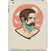 Flower Beard iPad Case/Skin