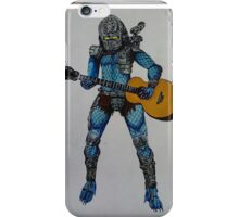 Predator playing guitar iPhone Case/Skin