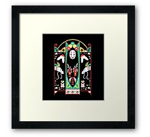Spirited Deco Framed Print