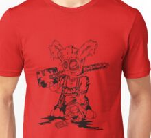 Chainsaw Bunny 2 Unisex T-Shirt