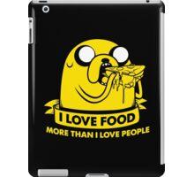 I love food more than I love people iPad Case/Skin