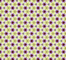 Seamless pattern the yellow-violet by floraaplus