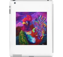 Rooster on the Horizon iPad Case/Skin