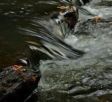 Turtletown Creek East Falls Downstream by John O'Keefe-Odom
