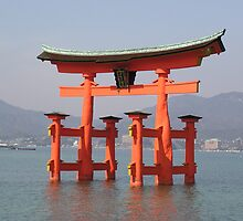 Itsukushima Shrine by Christie Harvey