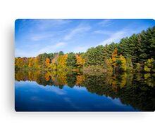 Fall Reflects Canvas Print