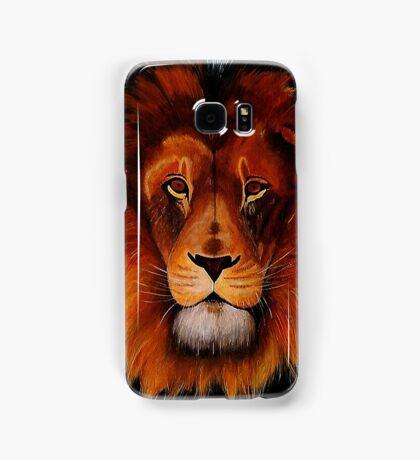 Unique painted lion Samsung Galaxy Case/Skin
