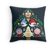 Regular Family Tree Throw Pillow