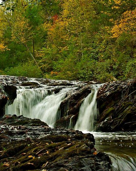 Rapids Above Turtletown Creek West Falls I by John O'Keefe-Odom