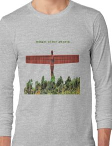 Angel of the North. Long Sleeve T-Shirt