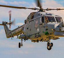 Westland Lynx HMA.8SRU XZ726/316 by Colin Smedley
