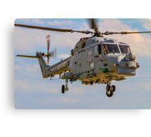 Westland Lynx HMA.8SRU XZ726/316 Canvas Print