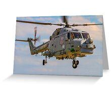 Westland Lynx HMA.8SRU XZ726/316 Greeting Card