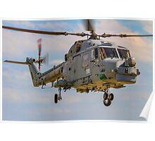 Westland Lynx HMA.8SRU XZ726/316 Poster