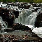 Rapids Above Turtletown Creek West Falls II by John O'Keefe-Odom