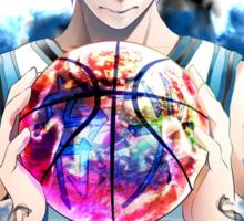 Anime: Kuroko' stuff Sticker