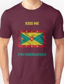 Kiss Me I'm Grenadian T-Shirt