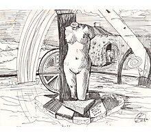 APRODITE(C1996)(INK PEN DRAWING) Photographic Print