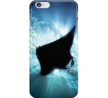 Manta Silhouette iPhone Case/Skin