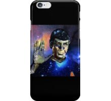 """Into The Darkness"" LLAP Leonard Nimoy, Spock, Star Trek iPhone Case/Skin"