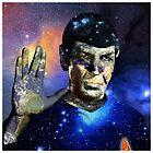 """Into The Darkness"" LLAP Leonard Nimoy, Spock, Star Trek by O O"