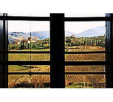 Window on Chianti Photographic Print