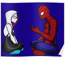 Spider-Gwen & Spider-Man Poster