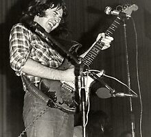 Rory Gallagher by Klaus Offermann
