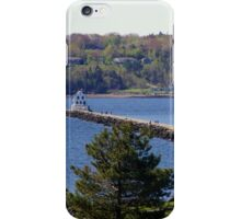 Rockland Breakwater Lighthouse ~ Rockland, Maine iPhone Case/Skin