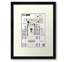 Arduino Mega poster Framed Print