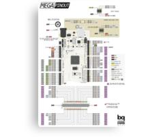 Arduino Mega poster Canvas Print