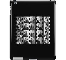 Vintage Photobooth Picture Strips iPad Case/Skin