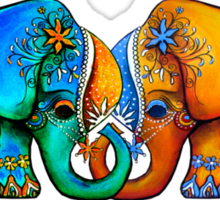 Littlest Elephant Love Links Sticker