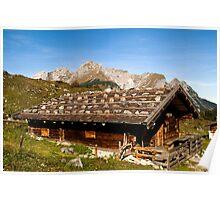 Alpine hut  Poster