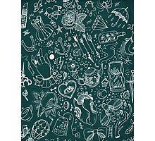 Flash Tattoo Print Photographic Print